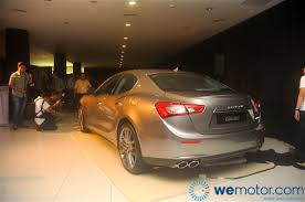 maserati brown launch 2014 maserati ghibli sports sedan starting from rm538 800