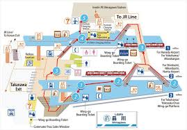 shinagawa station map guide to transferring at shinagawa station a day in