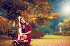 Model Bench Alone Trees Bench Sky Ground Wallpapers Hd Desktop And