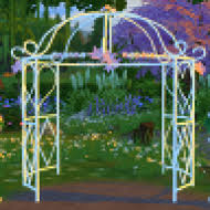 wedding arches sims 3 2 to 4 princess bliss tie the knot gazebo as a wedding arch