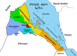 africa map eritrea eritrea issues new map claiming part of djibouti