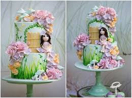43 best fairy cakes images on pinterest decorated cakes fairy