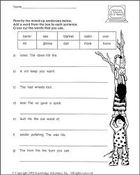 10 best images of fun language arts worksheets printable free