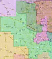Cook County Illinois Map by Northern Kane County View Of The Remap Mchenry County Blog