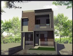 denah dan desain rumah tingkat minimalis terbaru 2014 desain