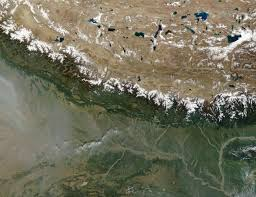 Himilayas Map Nasa Visible Earth The Himalayas