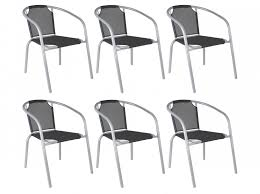 chaise pas cher lot de 6 jardin chaise jardin pas cher inspirational chaise chaise empilable