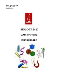 lab manual protozoa bacteria