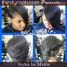 invisible part hair style underbraids invisible part feathered thirstyroots com black