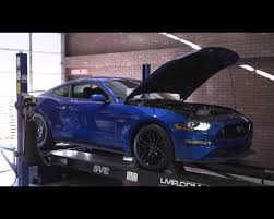 first mustang ever made 2018 ford mustang gt dyno pull reveals coyote v8 produces 415 rwhp