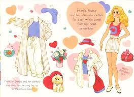 197 0305 barbie paper dolls images paper art