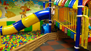 playground fun play place for kids with balls play room slides