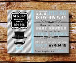 mustache baby shower invitations u2013 gangcraft net