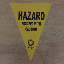 Safety Pennant Flags Danger Warning Caution Bunting Flags Flags U0026 Bunting