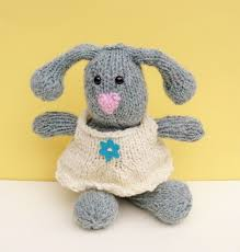 stuffed bunny easter bunny with clothes stuffed bunny knitted bunny aftcra