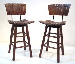 appealing simple modern bar stool come with black leather bar