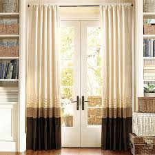 mia brown red window curtains pair 54
