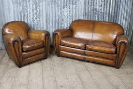 Fairmont Sofa Antique Style Sofa In Aged Leather The Fairmont