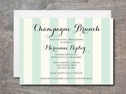 bridal brunch invites chagne brunch invitation bridal shower invitation