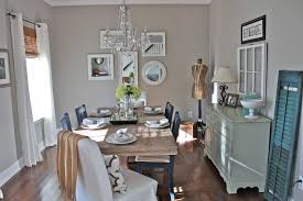 sherwin williams grey paint dining room shabby chic style with