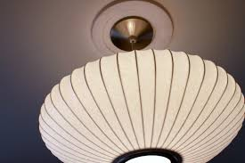 george nelson saucer lamp the cavender diary