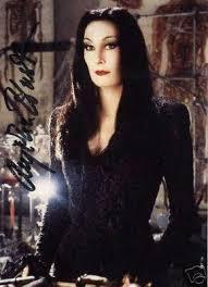 Morticia Addams Halloween Costume Anjelica Huston Morticia Stylish Personalities
