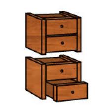 bloc tiroirs bureau bloc de 4 tiroirs pour bibliothèque colonne de bureau maxiburo