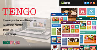 tengo metro style free responsive email template