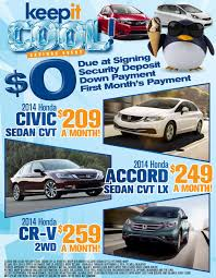 lexus of tampa certified pre owned keep it cool sales event at ocean honda in port richey fl near