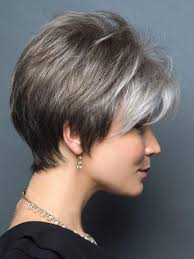 salt and pepper pixie cut human hair wigs gray wigs all shades of grey wigs com the wig experts