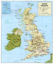 Us Relief Map Maps Map Britain