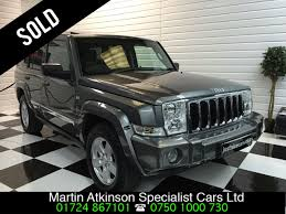 light gray jeep used jeep commander 5 7 v8 limited 5dr automatic 7 seater for sale