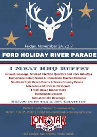 san antonio riverwalk thanksgiving ford holiday river parade dinner packages
