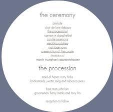 simple wedding programs wedding invitation collection l purpletrail
