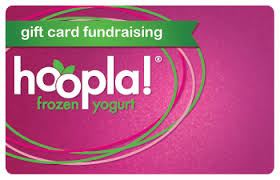 gift card fundraiser frozen yogurt fundraiser hoopla froyo frozen yogurt we