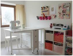 ideas splendid sewing table ikea design for your craft room ideas