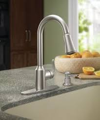 moen harlon kitchen faucet moen traditional chrome two handle high arc kitchen faucet