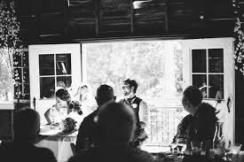 Dress Barn Black And White Dress Ali U0026 Ryan U0027s Quirky Blue Dress Barn Wedding Reception In Benton