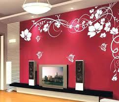 designer wall designer walls flowers wall decal interior wall designs asian paints