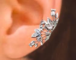 ear cuffs singapore nouveau flower ear cuffs sterling silver earrings