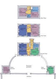 Schematic Floor Plan by Floor Plan Belmont House