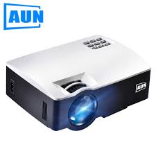 led tv home theater package aun projector akey1 mini beamer for home theater 1800 lumens led
