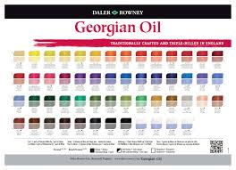 Shades Of Blue Color Names Georgian Oil Daler Rowney