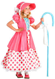 girls polka dot bo peep costume costume craze
