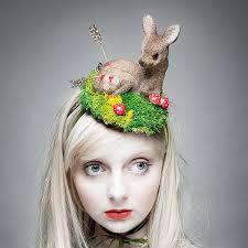 easter bunny hat easter hat easter bunny green grass heart arrow lip girl
