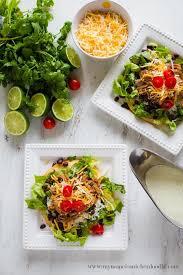 Main Dish Vegetables - cilantro lime pork tostada salad thirty handmade days