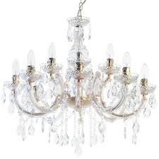 Marie Chandelier Chandeliers Lighting Crystal Tiered Decorative Lights Uk