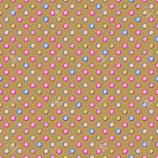 yellow with pink polka dots beige seamless polka dot pattern with colorful pink yellow purple