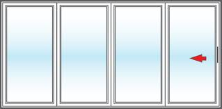 Patio Door Sales Vinyl Replacement 4 Panel Patio Doors In San Diego Bm Windows