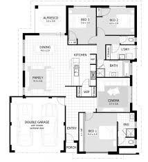 Bungalow House With 3 Bedrooms by House Plan Cool Inspiration 3 Bedroomed House Designs 11 Three